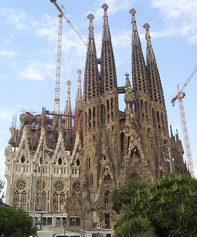 Sagradafamilia overview